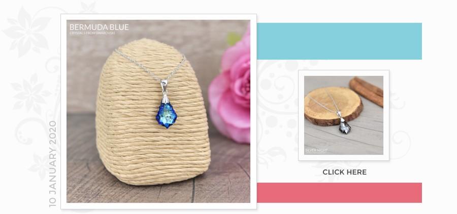 Grossiste Fournisseur Silver Necklace with Swarovski Crystal