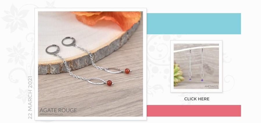 Grossiste Fournisseur Sterling Silver Gemstone Earrings