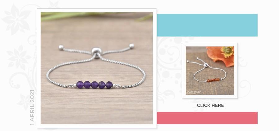 Grossiste Fournisseur Sterling Silver Gemstone Bracelet